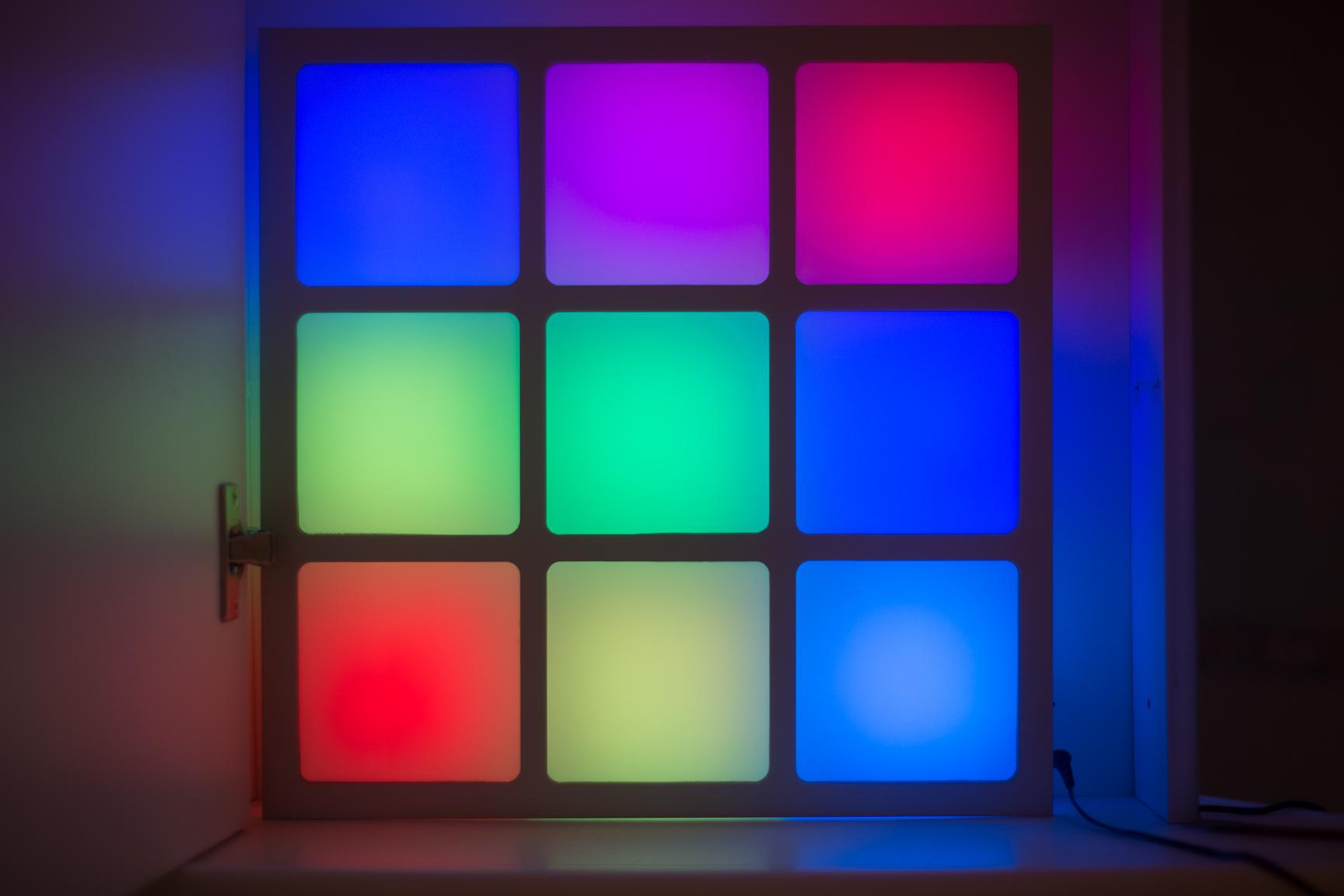 Stimmungslampe im Badezimmer