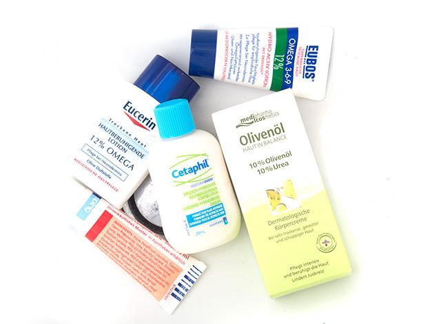 Hautpflege für sehr trockene Haut