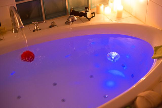 Badewannenlicht LED in blau