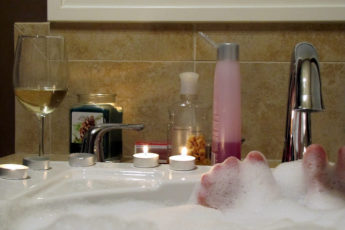 Erkältungsbad