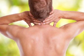 Schmerzen im Halswirbel. Versapnnung
