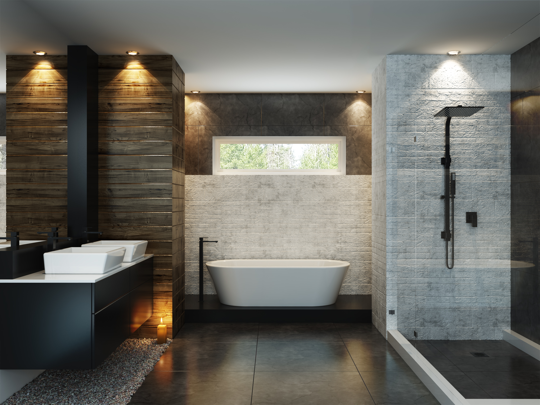 Matt schwarze Badarmaturen - Der Badezimmer Trend 19